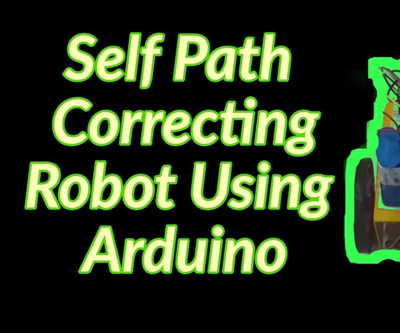 Self Path Correcting Robot