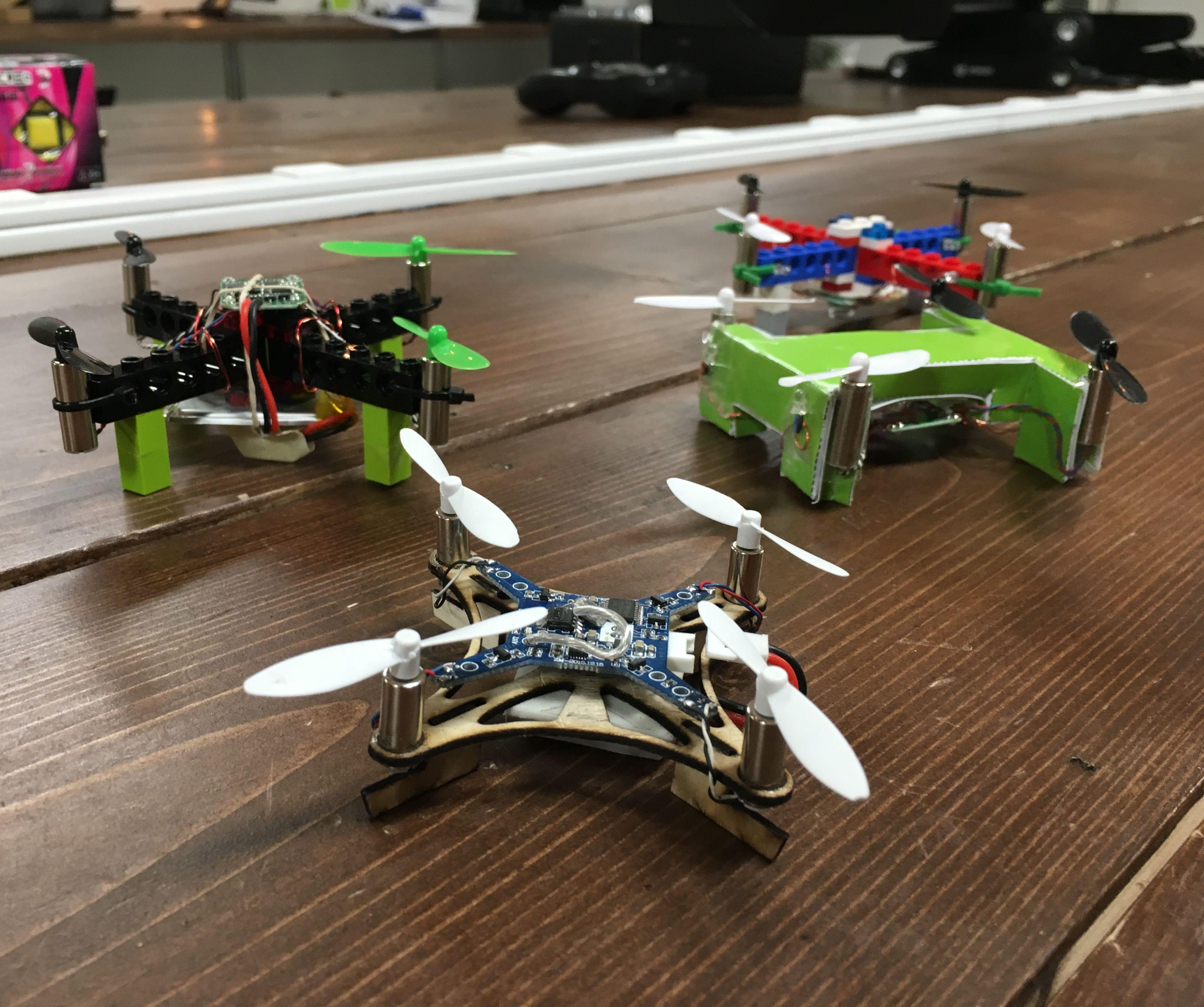 Mini Drone - Crash and Remake