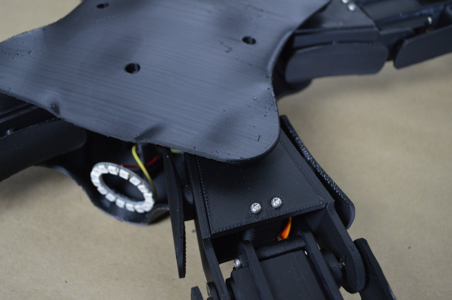 Attach Chassis Bottom