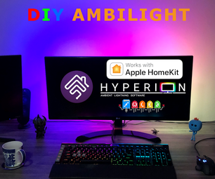 DIY Smart Home PC Ambilight