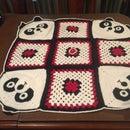 Crochet Panda Blanket for a Baby!