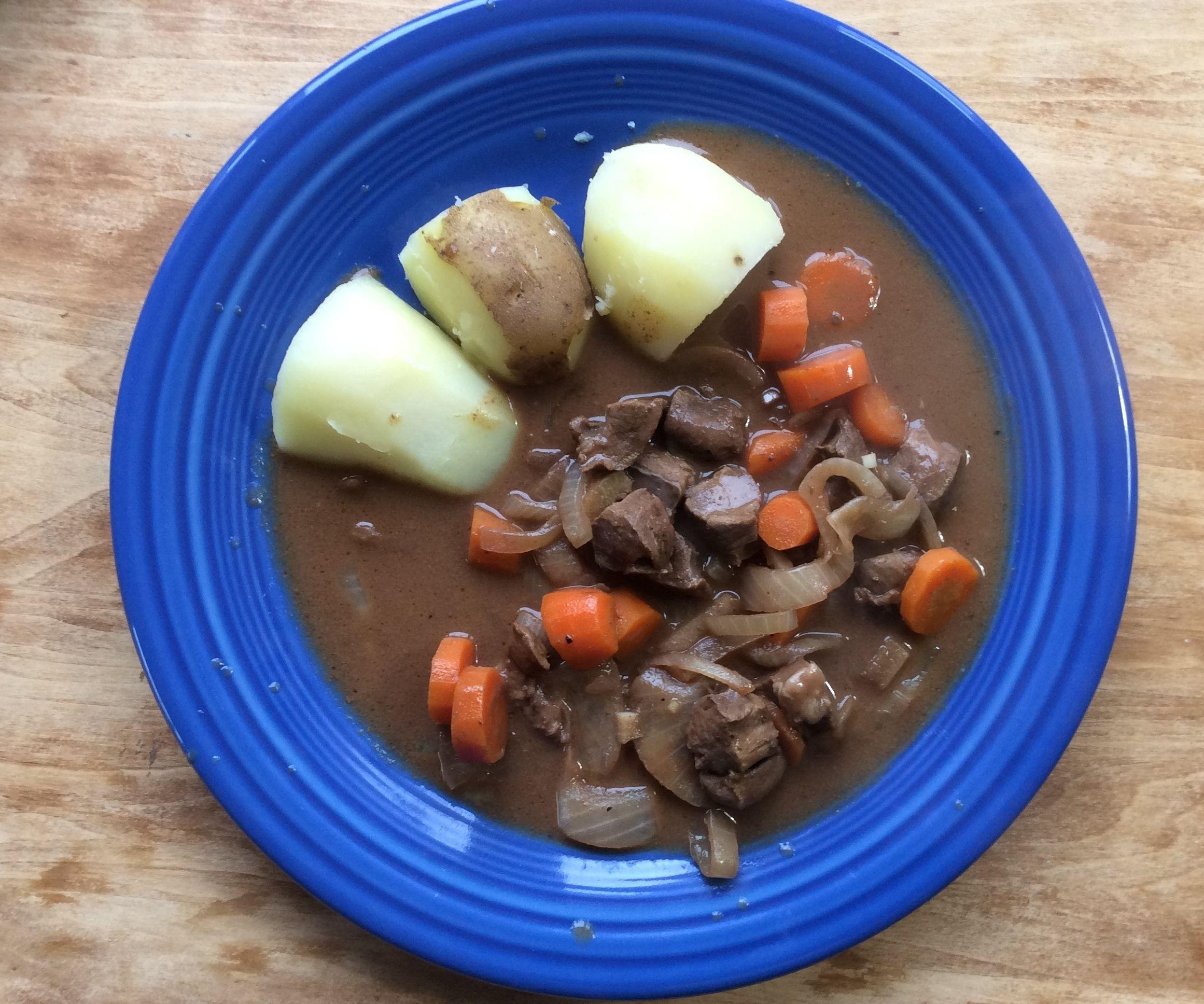 Hearty Beef Heart Stew