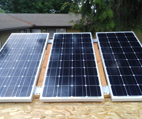 Solar Photovoltaic (PV) Installation for DIY Camper