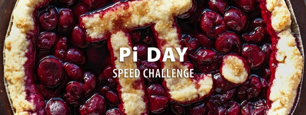 Pi Day Speed Challenge