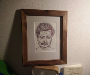 How to Frame Nick Offerman