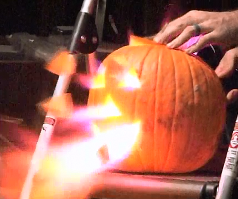 Fire-Breathing Pumpkin