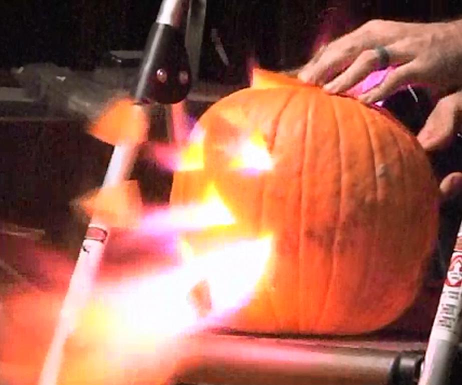Fire-Breathing Pumpkin