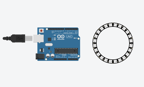 Create a New Circuit With an Arduino Uno and NeoPixel Ring