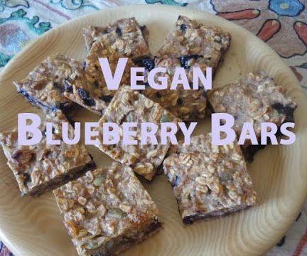Blueberry Bars (Vegan)