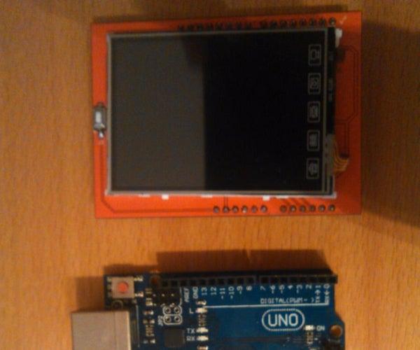 Arduino TFT Text Tutorial