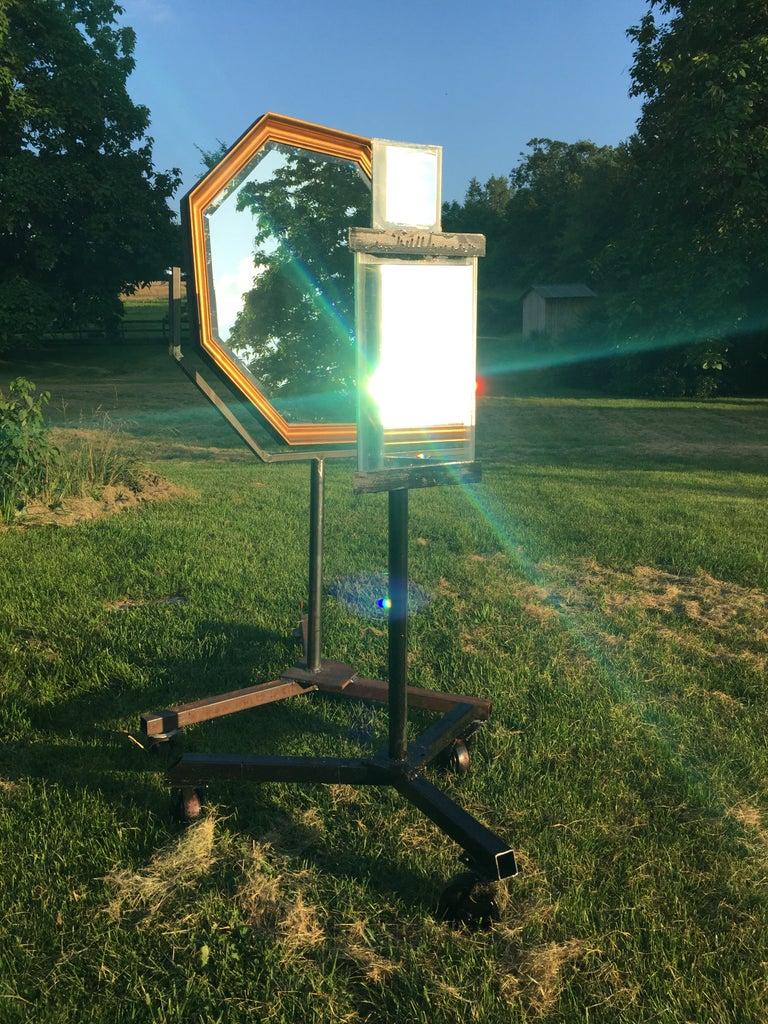 Solar Mirror Stand!!!