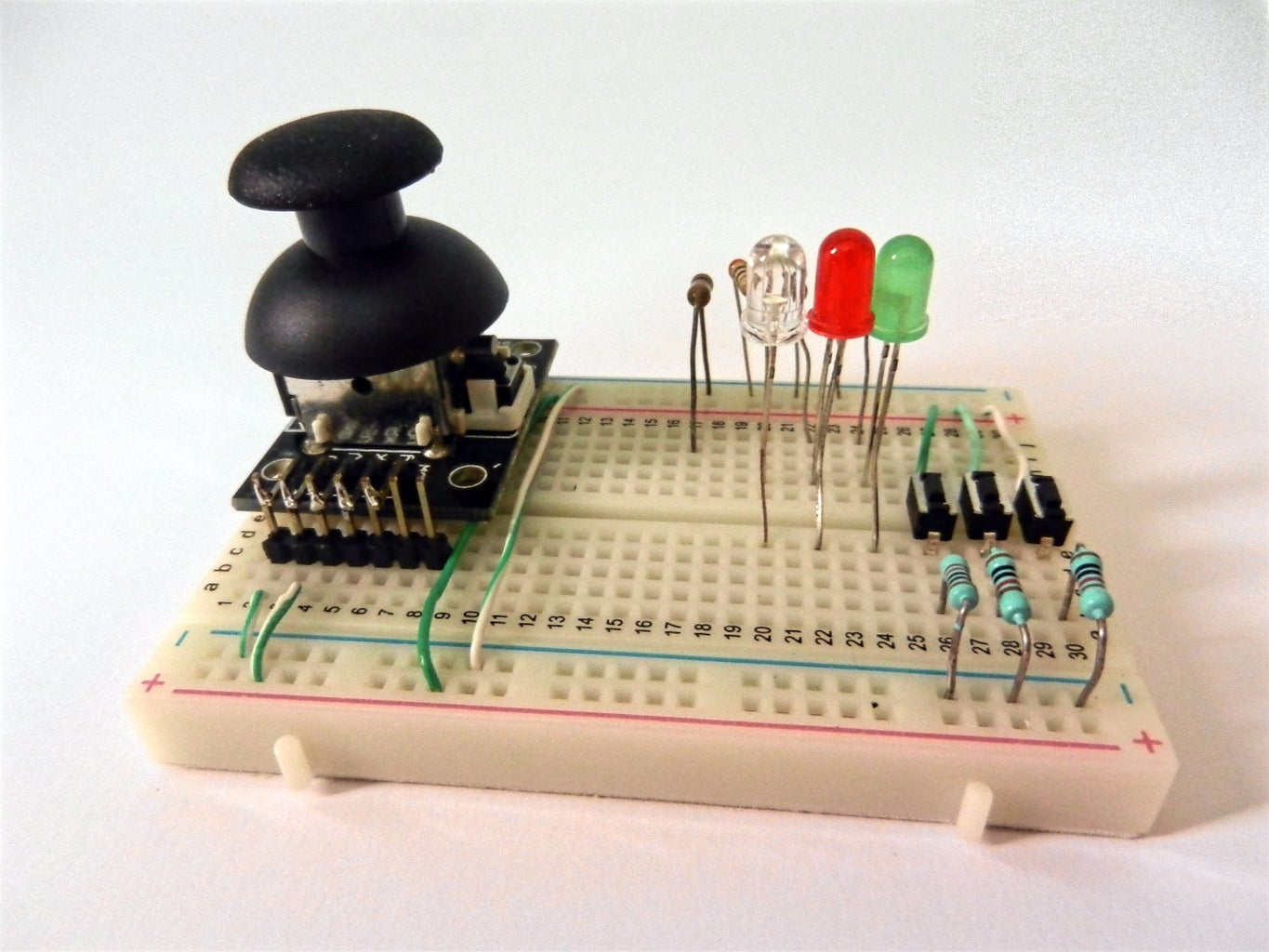 Use a Potentiometer and Buttons Instead of Sensors
