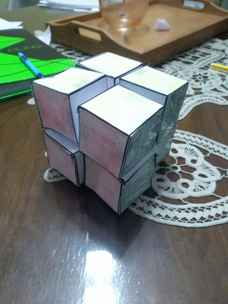 Paper 2 X 2 Rubik's Cube
