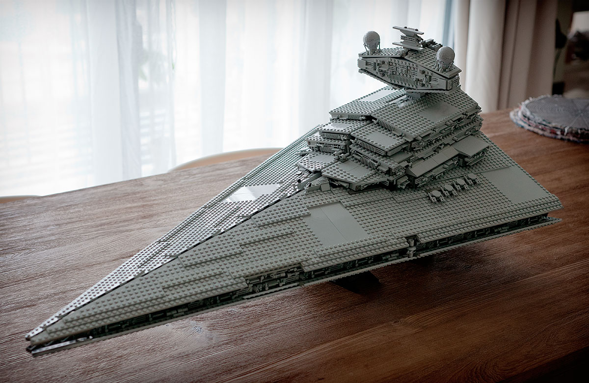 Lego star wars destroyer new model.