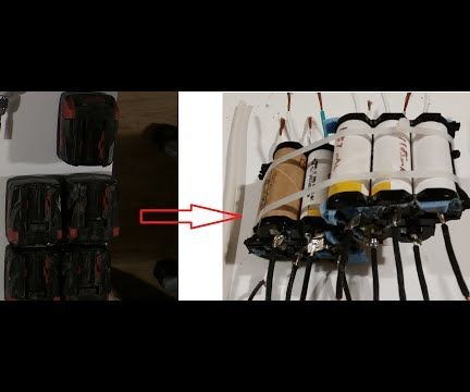 Make Lithium Battery Pack From Salvage