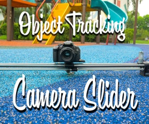 Object Tracking Camera Slider With Rotational Axis. 3D Printed & Built on the RoboClaw DC Motor Controller & Arduino