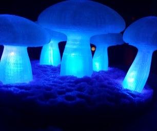 Voice Controlled Mushroom