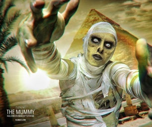 The Mummy - SFX Makeup Tutorial
