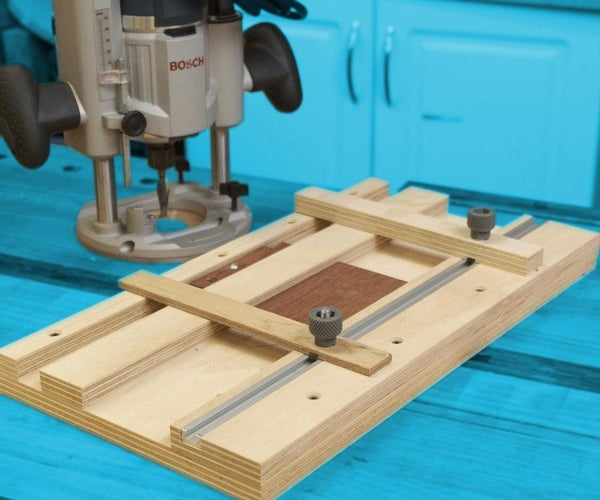 Small Parts Routing Jig