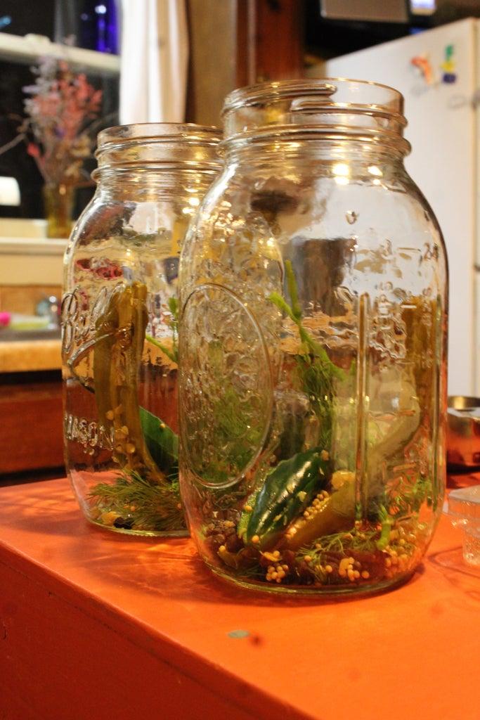 Preparing the Jars