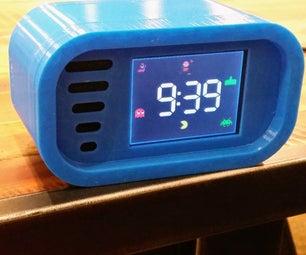 Retro Arcade Clock - Arduino