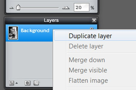 Duplicate the Layer