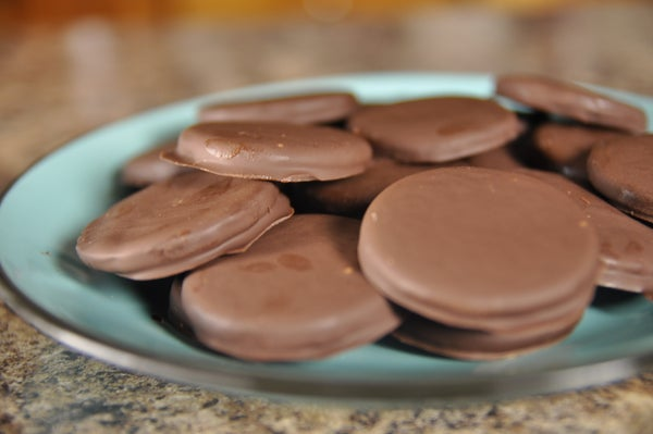 How to Make Thin Mint Cookies