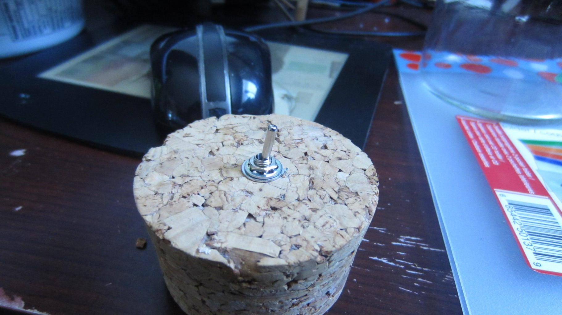 Prepping the Cork 1