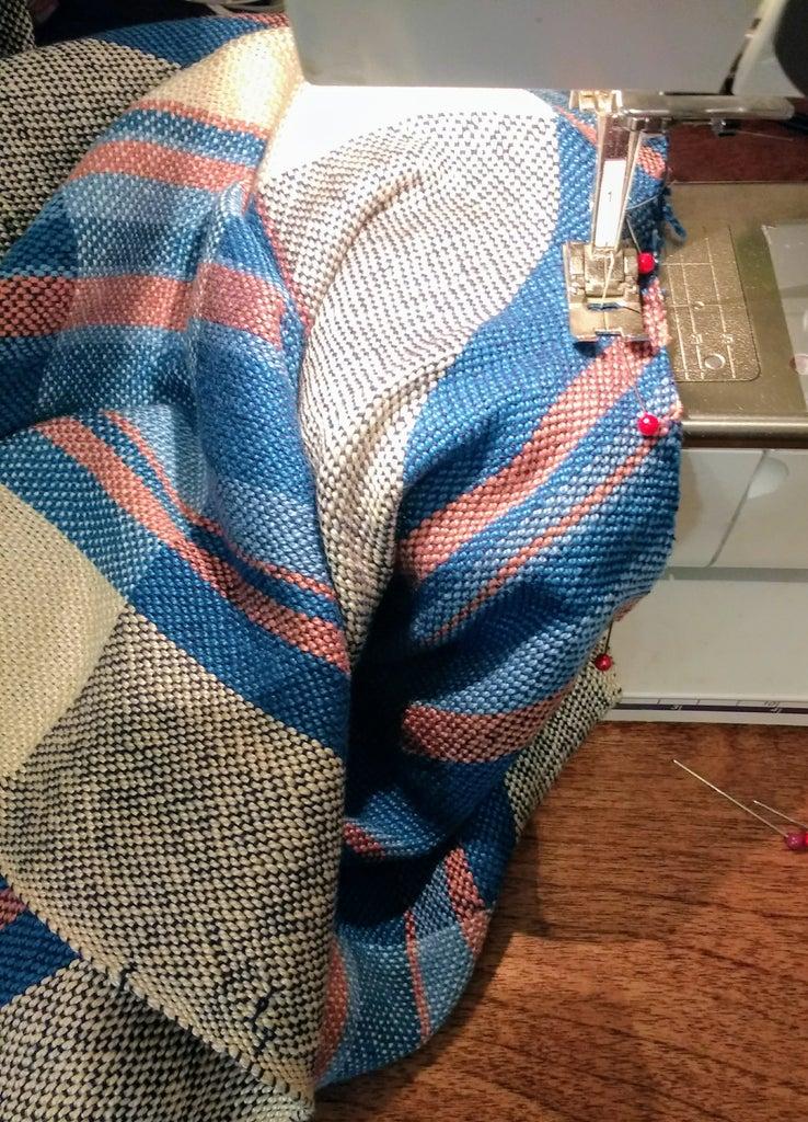 Draped Cardigan Part 3: Sew