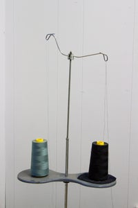 Wrapping the Thread Hanger and First Thread Guide