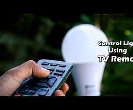 How to Control Lights Using TV Remote
