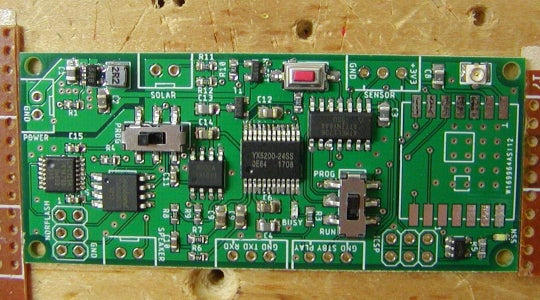 Place the SMD Parts