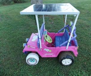 Solar Power Powerwheels
