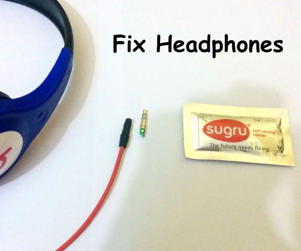 Fix Your Headphones Jack Using Sugru