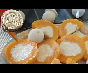 Kulfi & Kulfi Stuffed Mangos - (Home Made Desi Ice Cream & Stuffed Mangos)
