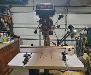 WEN Drill Press Table Adjustment Handle Extension