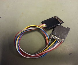 SD Card Extension, Support & Cover