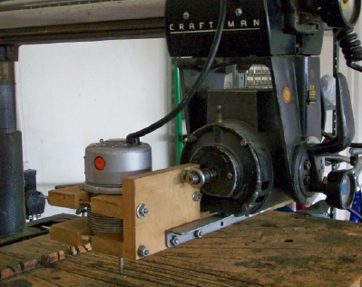 Pin Router for a Sears Radial Arm Saw