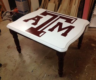 How to Reproduce a Logo or Image on a Table