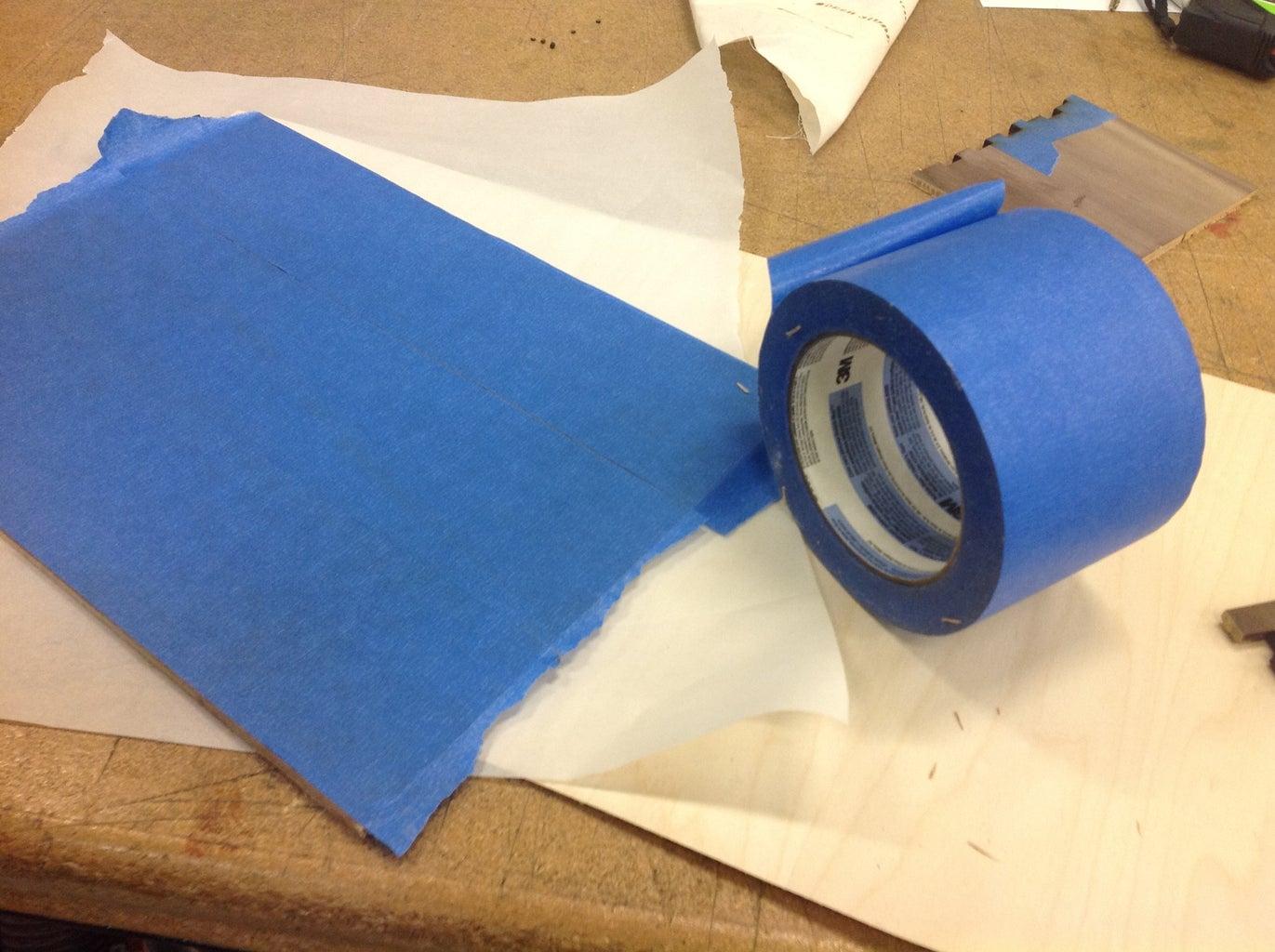 Prep Materials for Laser