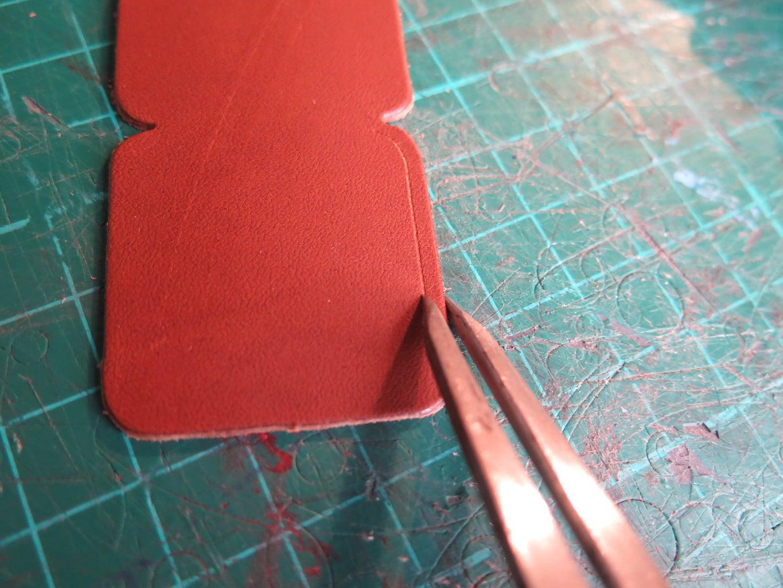 Punching Stitching Holes