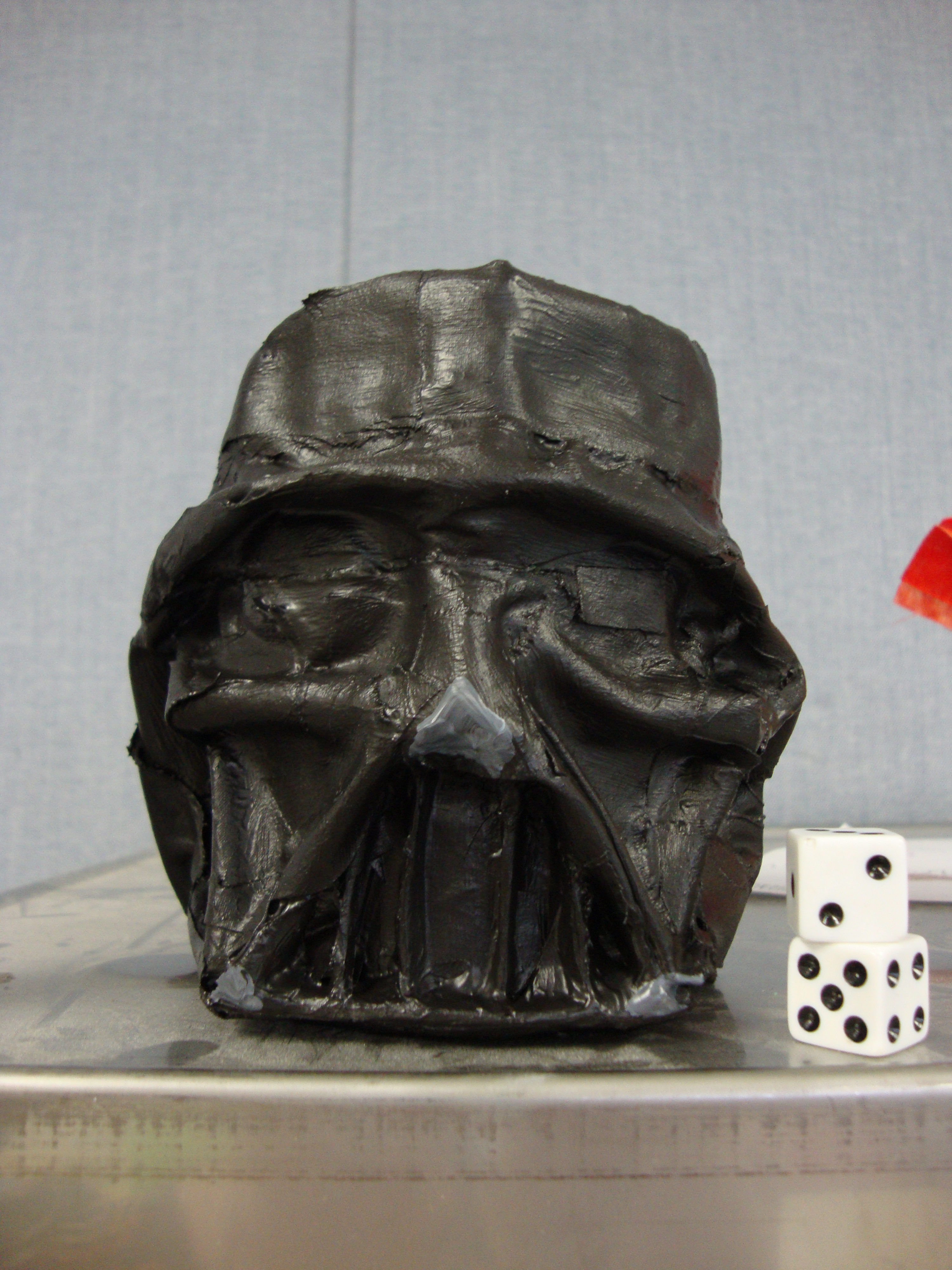 Intro To Design Lesson: Create A Paper Mache Darth Vader Tin Can Math Game