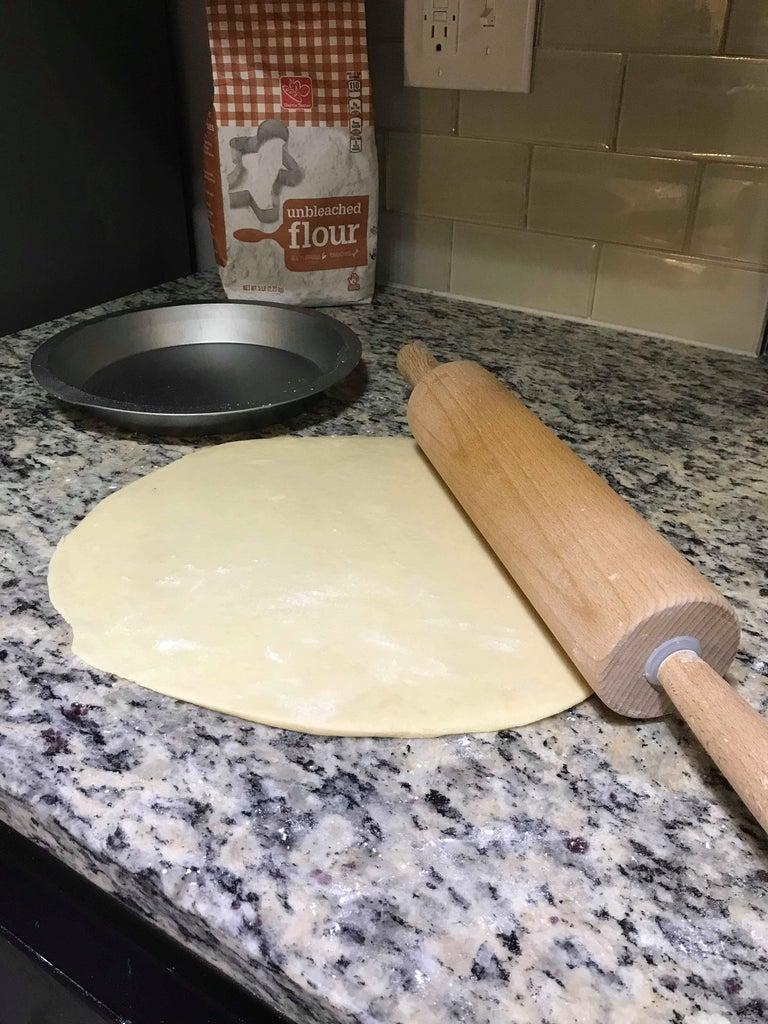 Step 1:   Size Dough