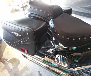 Quick Release for Motorcycle Saddle Bags