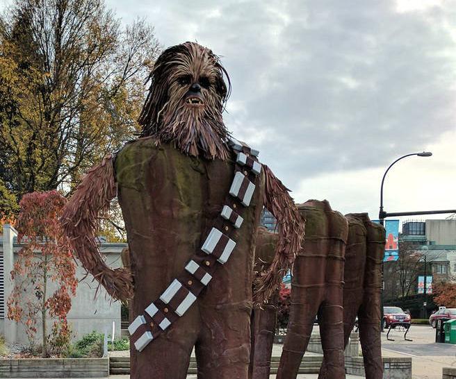 Wookie Statue
