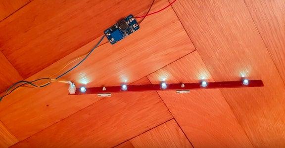 Led Circuit Solar Powered