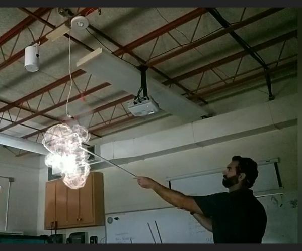 Foil + Hydrogen Chloride Chemistry Experiment