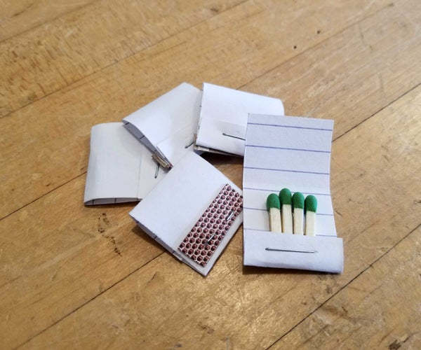 Matches to Mini Matchbook