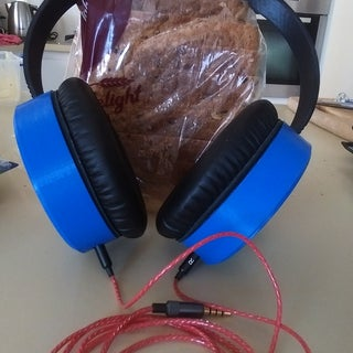 DIY 3D Printed Headphones