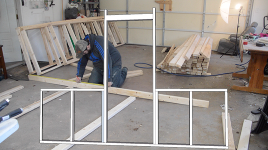 Build the Front and Back Walls